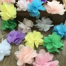 包邮DIY手工装饰立体花朵服装辅料彩色花边演出服配饰材料包