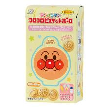 日本进口零食 不二家面包超人婴幼儿牛奶饼干儿童营养饼30g