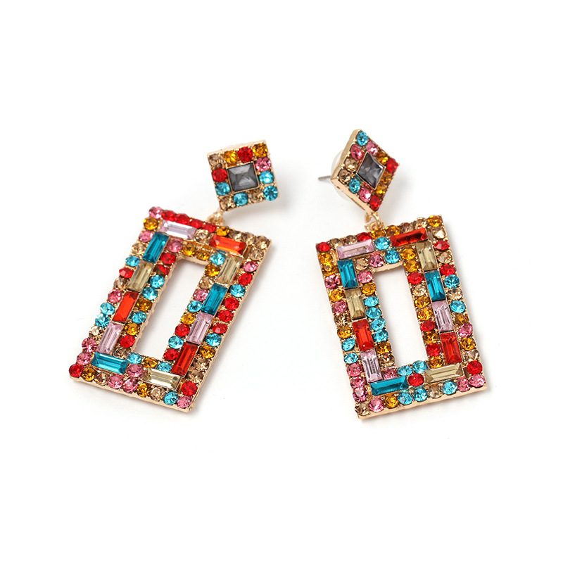 Alloy Fashion Geometric earring  (white)  Fashion Jewelry NHJJ5555-white
