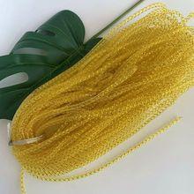 廠家直銷4mm金絲彈力魚骨網管婚慶裝飾DIY材料禮品包裝輔料