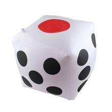 充气超大号色子大骰子 活动比赛 超大骰子大筛子 32*32CM骰子批发