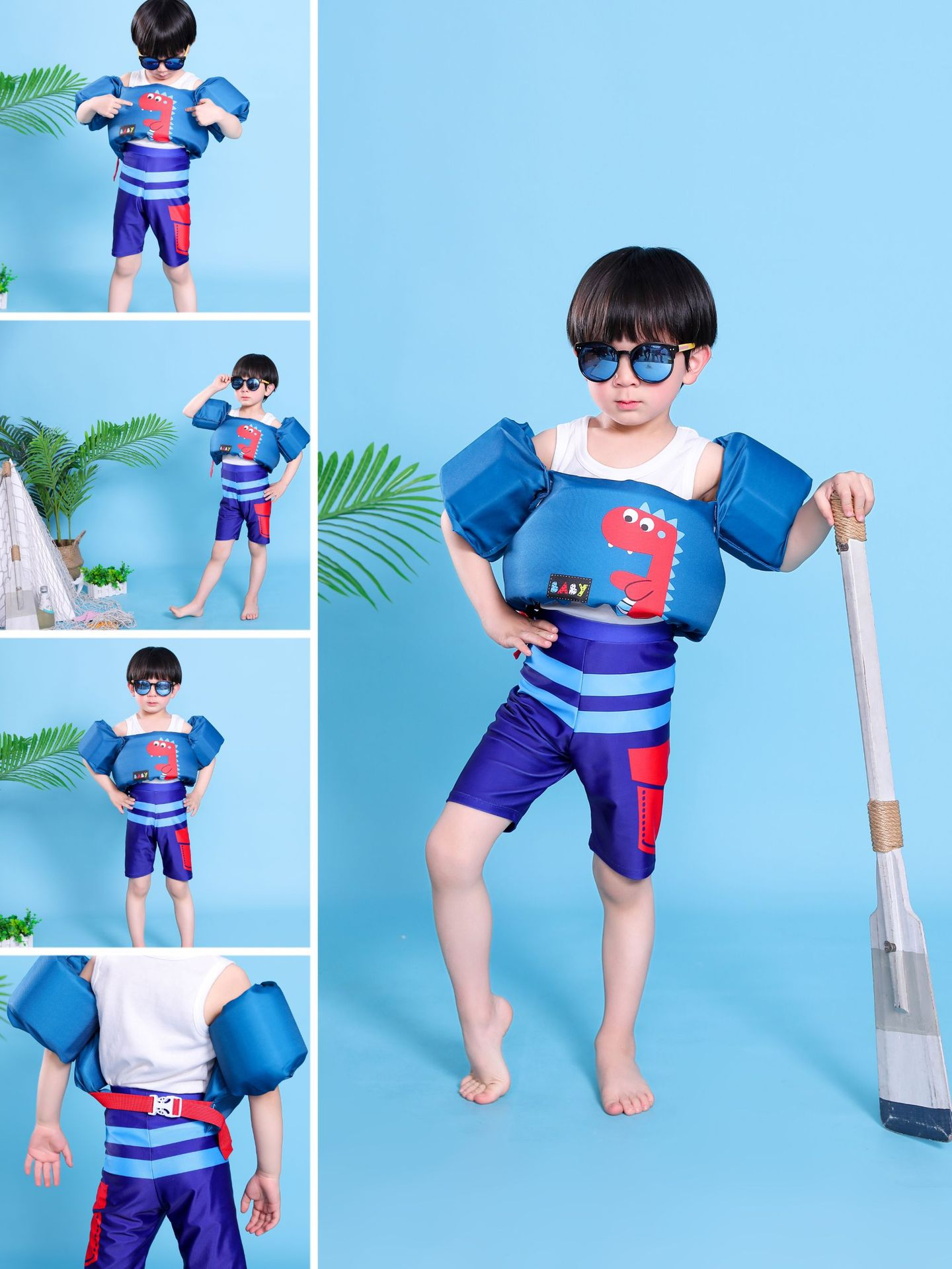 Children s life jacket buoyancy vest baby floating suit swimming arm foam lifebuoy sleeve WW190417117922