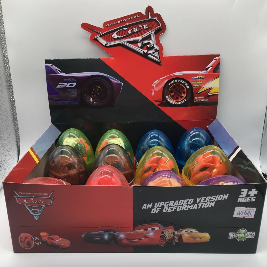 Car deformation egg 2 [full box for sale of 12 boxes]
