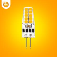 新款厂家直销g4led玉米灯硅胶低压led玉米灯可调光g4 led灯泡
