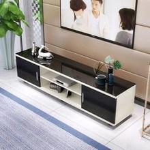 钢化玻璃电视机柜1.2简约1.4组合1.6客厅宽35cm小户型迷你地柜1米