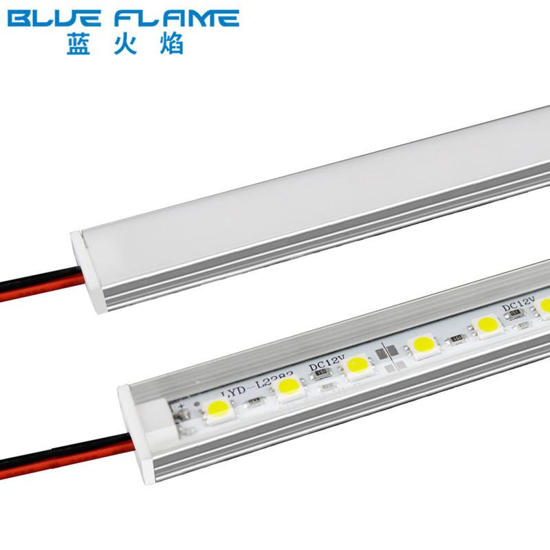 LED硬灯条5050超薄型超市货架灯展柜橱柜酒柜LED灯条12&24V超高亮