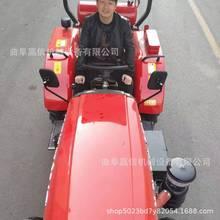 工地農業用中拖604大棚王四輪拖拉機 東方紅中型四驅拖拉機 省力