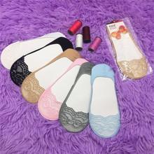 19夏季新款蕾絲超隱形襪獨立包裝防滑防脫薄款淺口船襪女襪套批發