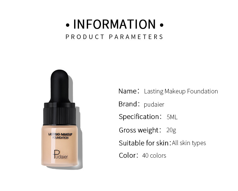 Liquid Foundation Concealer