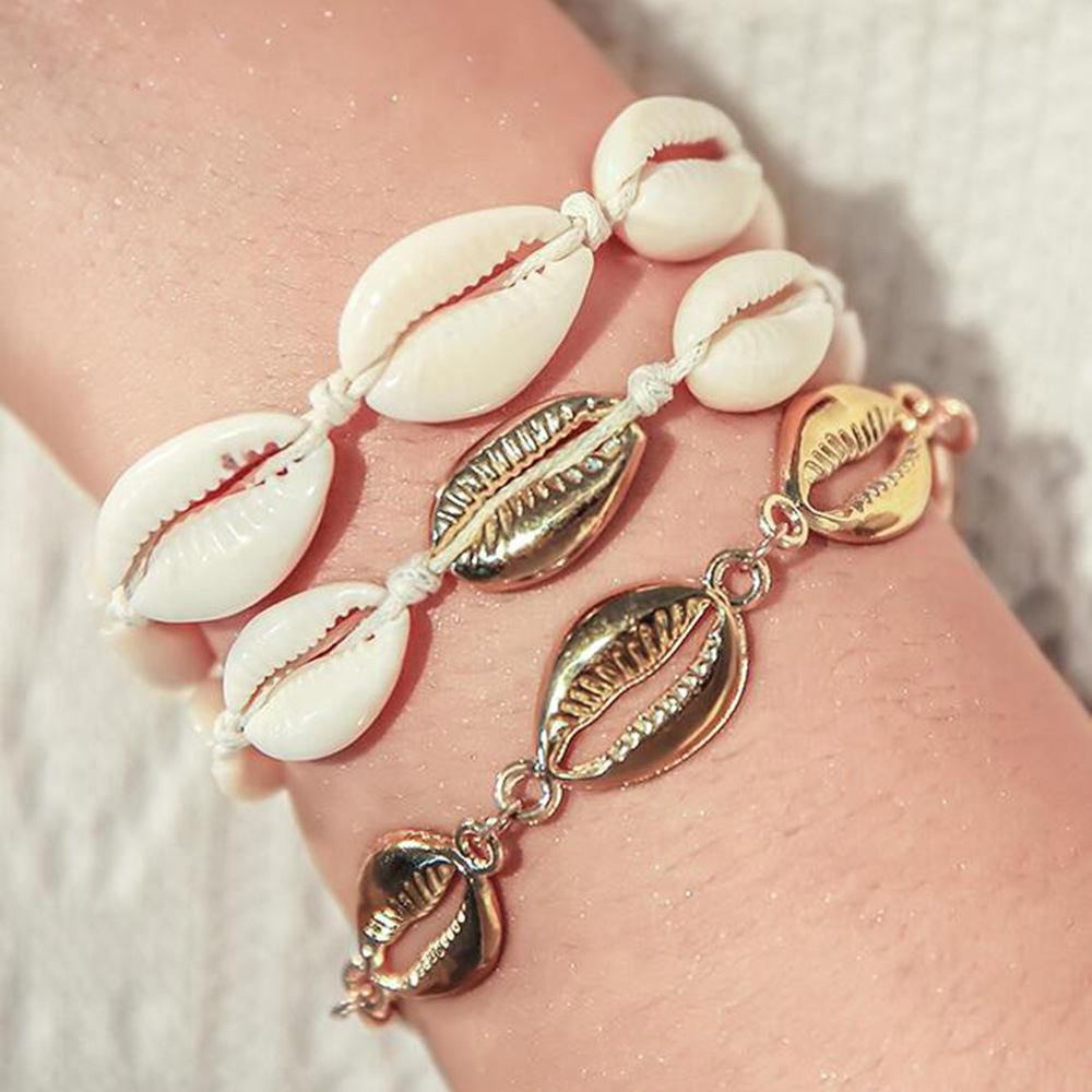Ocean series simple bracelet creative shell bracelet accessories NHMD198751