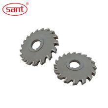 供應數控焊接式三面刃14刃硬質合金側銑鎢鋼合金鋸片刀具銑刀批發