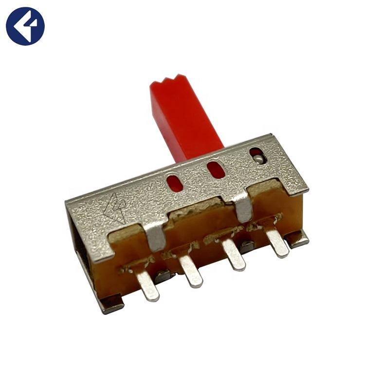 供应电源微型滑动开关三挡立式拨动开关五金电子产品玩具滑动开关