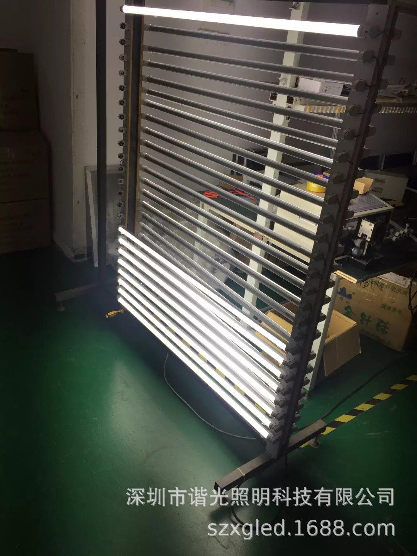 led灯管需要镇流器_可调光LED灯管可调节亮度t5支架T8可控硅无极调光日光灯大功率 ...