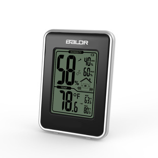 Baldr brand spot fashion and simplicity portable indoor thermometer hygrometer trend