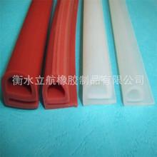 实心d型硅胶挤出密封条订做 耐高温防撞 O型硅胶密封条 方形条