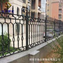 铸铁护栏 可安装定制户外庭院围墙护栏 建筑铁艺围界栅栏铸铁围栏