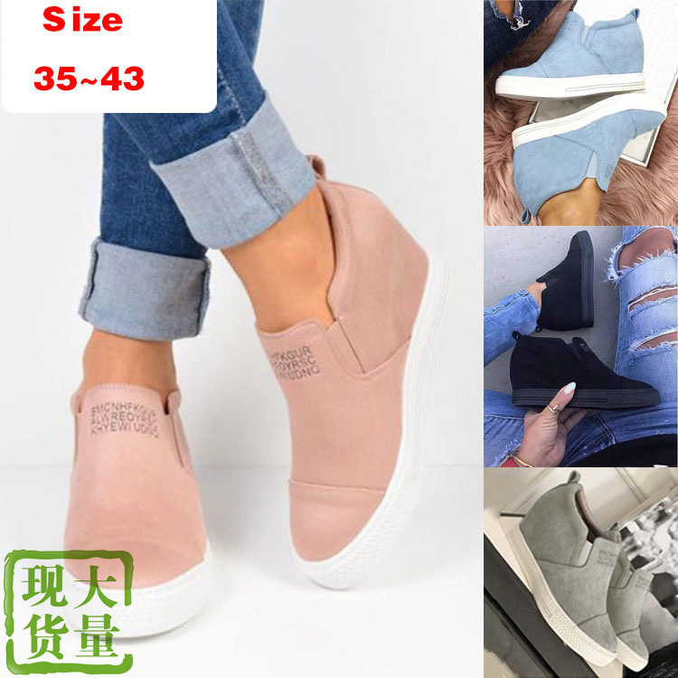 Large Size 35-43 Casual Soft Bottom Mother Single Shoes Womens Flat Shoes Genuine Leather Peas Shoes