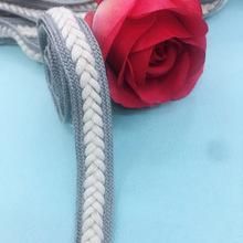 厂家现货15mm 人字纯棉编织织带花边辫子DIY服装辅料发饰绳带帽带