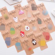 T韩国可爱卡通pvc软胶钥匙扣 创意情侣硅胶钥匙链 动漫卡通钥匙圈