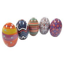 马口铁制罐厂家 代工生产马口铁圆形茶叶罐蜡烛罐异形圣诞蛋球罐