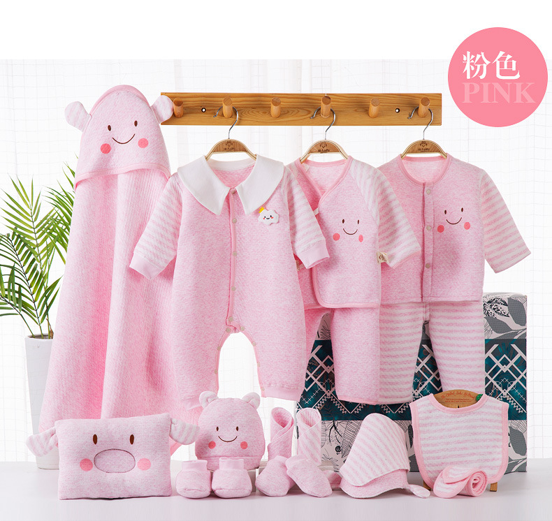 Newborn gift set baby clothes autumn and winter supplies wholesales fashion  NHQE180529