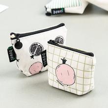 韩版零钱包零钱袋女生创意拉链小清新钥匙包卡通可爱硬币包卡包