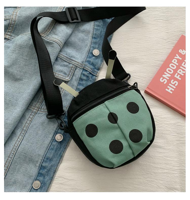 Fashion Cartoon Wild Ladybug Crossbody Bag NHXC170632