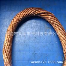 25平方 铜绞线 铜导电带 铜带 铜软连接 裸铜线铜 接地线透明绝缘