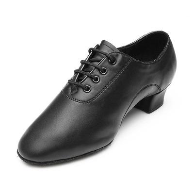 Men's modern shoes Latin dance shoes ballroom dancing shoes indoor training shoes black teachers' shoes