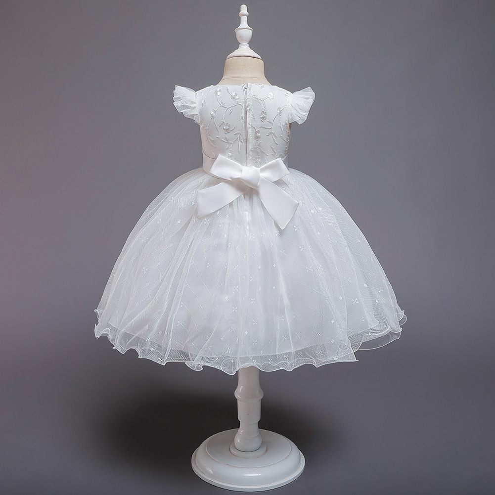 Princess dress gown year-old baby net gown pettiskirt child dress baby wash dress NHTY198314
