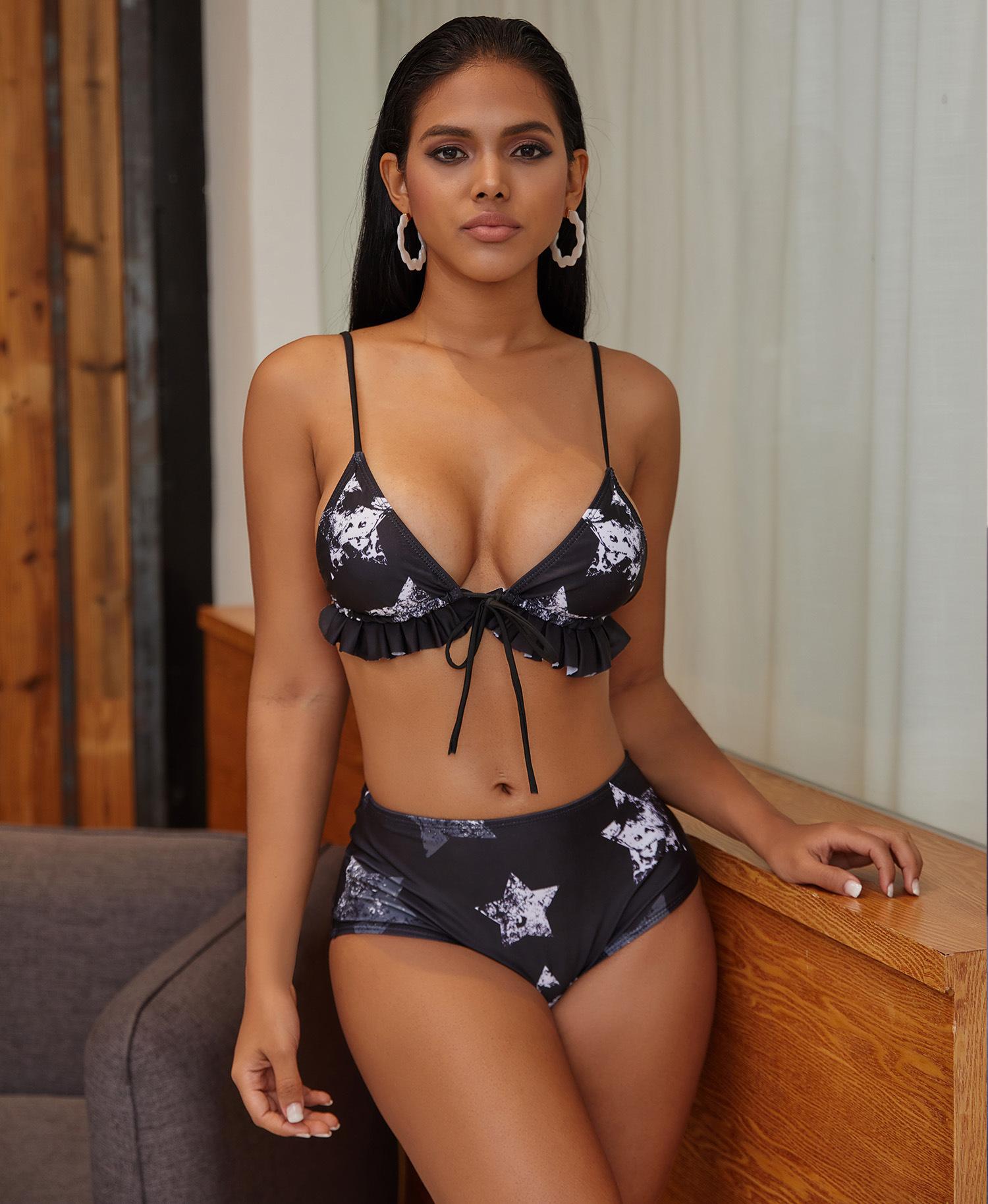 five-pointed star sexy bikini NSZO1563