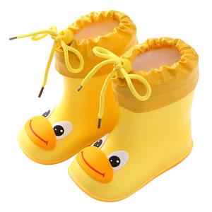 ស្បែកជើង Plus Velvet Baby Rain Boot Cute Lightweight PZ137223