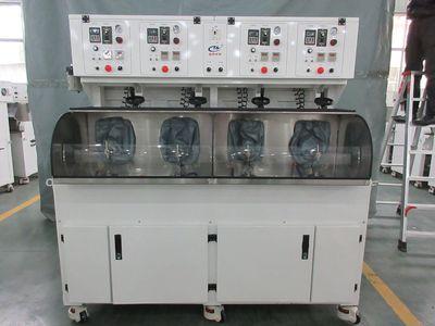 HT330-4四軸高效精磨、研磨機  光學鏡片加工設備 光學透鏡拋光機