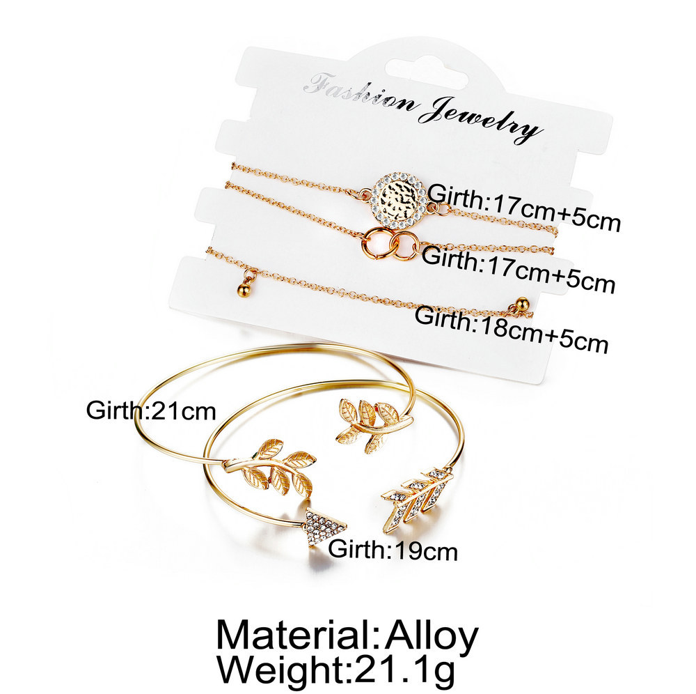 Alloy Fashion Geometric bracelet  Alloy GFN0101  Fashion Jewelry NHPJ0368AlloyGFN0101