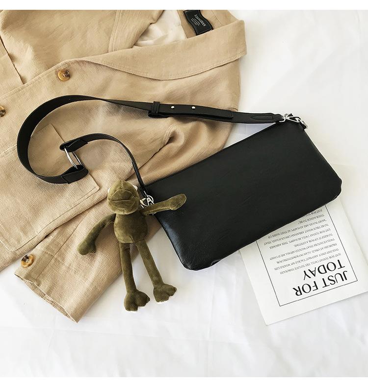 New Korean wide shoulder strap Messenger bag casual simple one-shoulder wholesale women bag NHTC185296