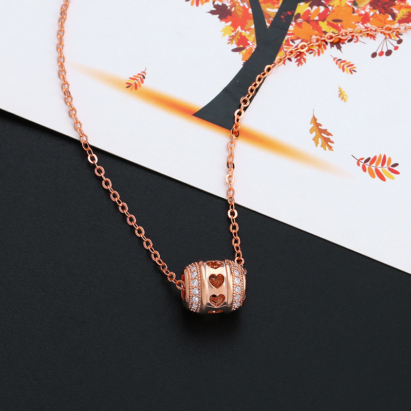 Alloy Simple Geometric necklace  (Alloy)  Fashion Jewelry NHAS0521-Alloy