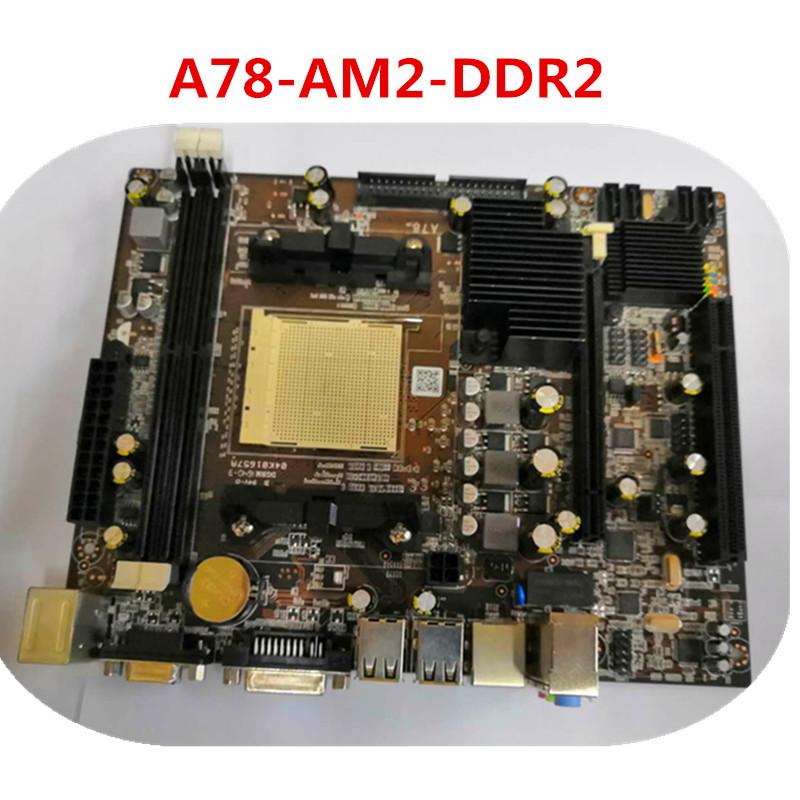 现货全新A78主板DDR3内存支持双核四核AM2/940针AM3/938针AMD系列