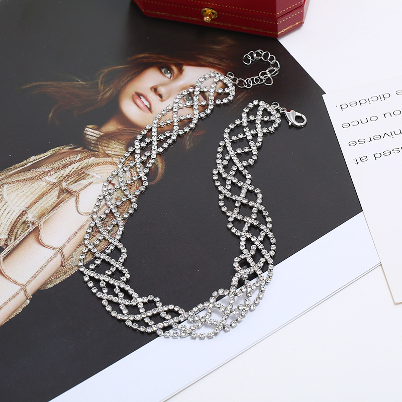 Fashion Jewelry Hollow Claw Chain Necklace Item Wholesale Wholesale NHKQ187361