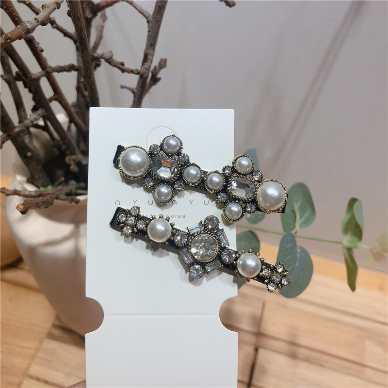 Imitated crystal&CZ Korea Flowers Hair accessories  (Section A)  Fashion Jewelry NHYQ0784-Section-A