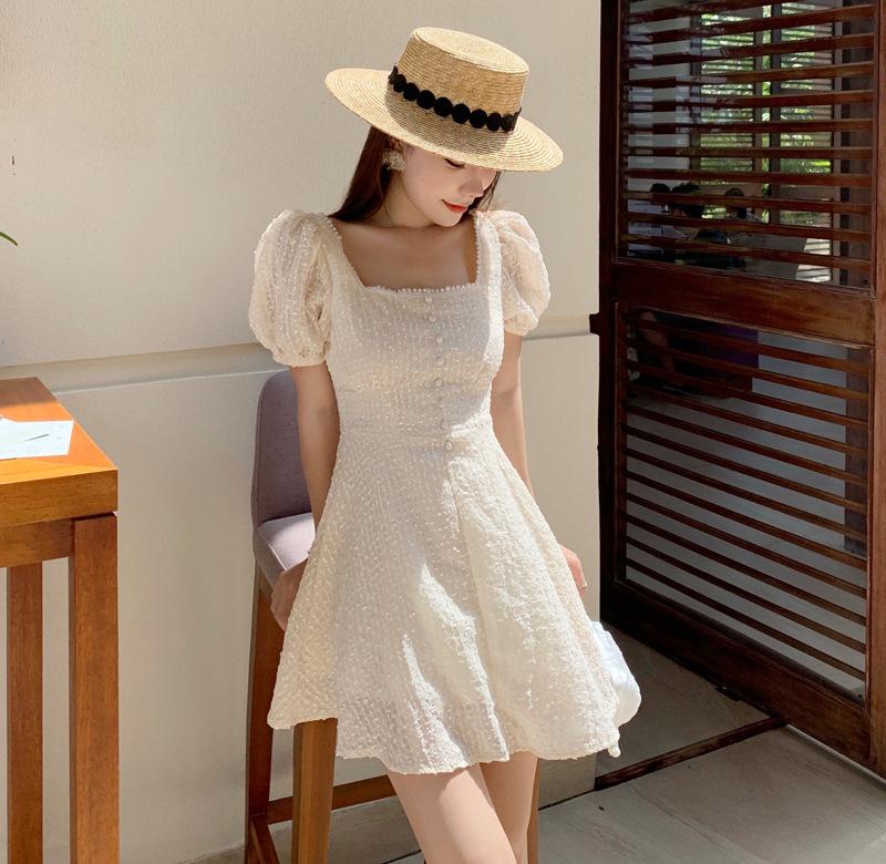 三亞海邊度假連衣裙超仙氣質泰國普吉島旅游仙女裙子小個子沙灘裙