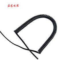 供应二芯高质量弹簧线 线圈可定制 剃须刀电器配件连接线