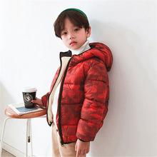 儿童棉衣 2019秋冬新款加厚加绒儿童羽绒棉服?#34892;?#31461;宝宝儿童外套