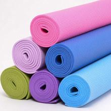 健身會所推薦出口高密度環保pvc防滑瑜伽墊/瑜珈墊子  yoga mat