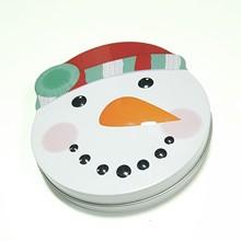 廠家直銷圣誕禮品鐵盒 異形糖果包裝 馬口鐵皮盒子 開窗禮盒定制