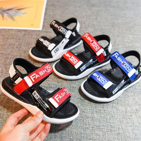 Dép nam 2019 mùa hè mới cho trẻ em Phiên bản Hàn Quốc của giày đi biển dành cho trẻ em