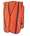 网眼安全背心 反光背心 工厂价魔术贴橘色背心 反光衣反光马甲