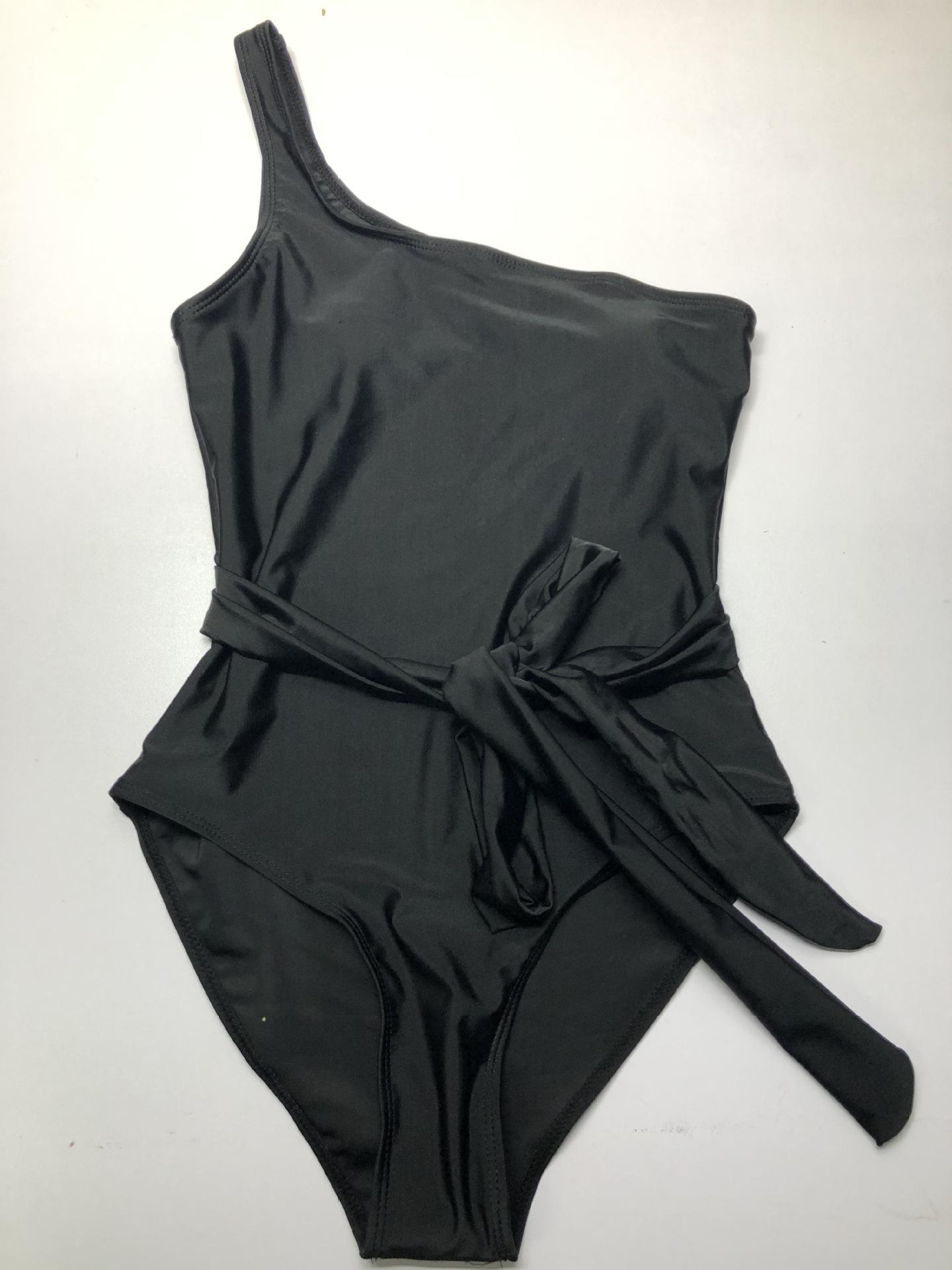 fashion strapless side waist sexy one-piece bikini NSHL2500
