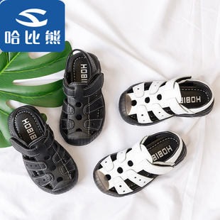新款宝宝软底凉鞋一件代发采源宝