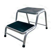 二步焊接踏凳家用非絕緣2階人字鐵梯子踏步單側兩步登高房車凳