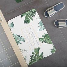 浴室门垫吸水脚垫硅藻泥地垫卫生间硅藻土速干防滑垫
